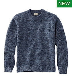 Men's Bean's Classic Ragg Wool Sweater, Crewneck Regular